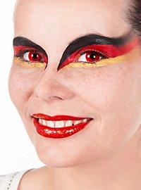 Rote Kontaktlinsen Satan