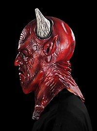 Satan Maske aus Latex