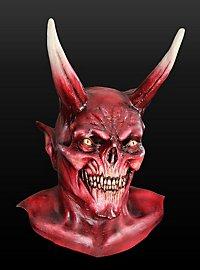 Satanischer Imperator Maske aus Latex