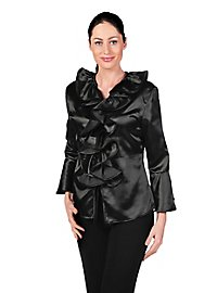 Satin Blouse black
