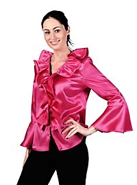 Satin Blouse pink