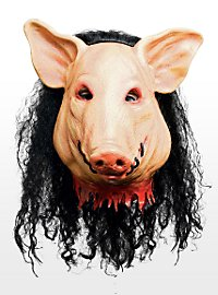 Saw Pig Maske aus Latex