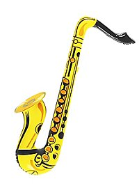 Saxophone gonflable
