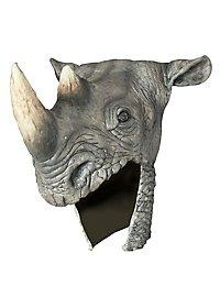 Schamane Kopfschmuck Nashorn