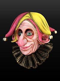 Schellennarr Maske aus Latex