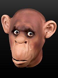 Schimpanse Maske aus Schaumlatex