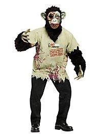 Schimpansen-Zombie Kostüm