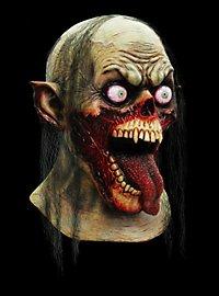 Schlabberzombie Maske aus Latex