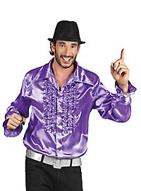 Schlagerstar ruched shirt purple
