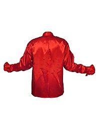 Schlagerstar Rüschenhemd rot