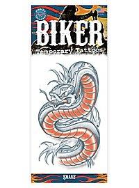 Schlange Klebe-Tattoo