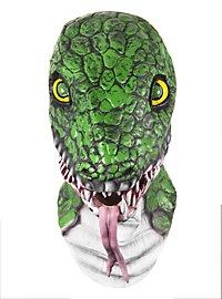 Schlange Maske aus Latex