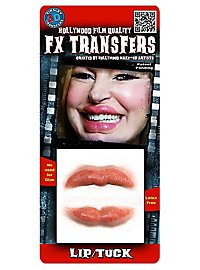 Schlauchbootlippen 3D FX Transfers