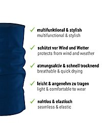 Schlauchschal blau