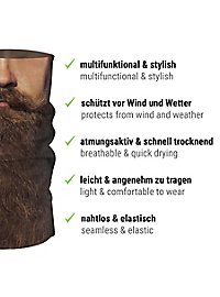 Schlauchschal Hipster Bart