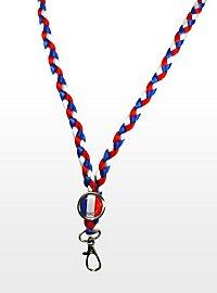 Schlüsselband Frankreich Fanartikel