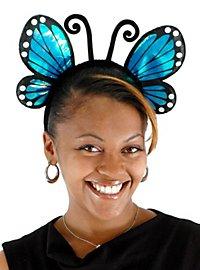 Schmetterling Haarreif blau