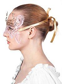 Schmetterling venezianische Maske aus Metall