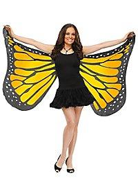 Schmetterlings Flügeltuch gold