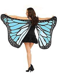 Schmetterlings Flügeltuch türkis