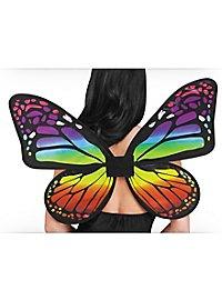 Schmetterlingsflügel regenbogenfarben