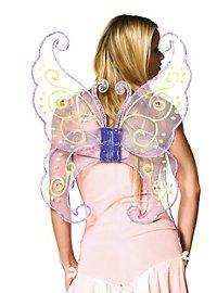 Schmetterlingsflügel rosa
