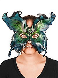 Schmetterlingsmaske blau
