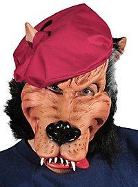 Schmieriger Wolfstyp Maske