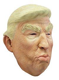 Schmollender Trump Maske
