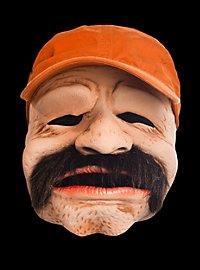 Schnäuzer Maske aus Latex