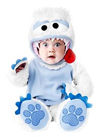 Schneemonster Babykostüm