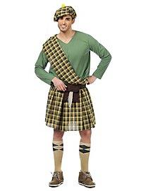 Schotte grün Kostüm