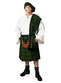 Schottischer Krieger grün Kostüm