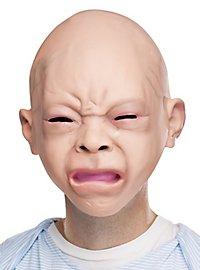 Schreiendes Baby Maske aus Latex