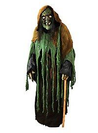 Schrumpelhexe Kostüm mit Maske