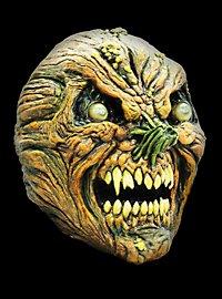 Schrumpelkürbis Maske aus Latex