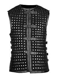 Lederrüstung - Schurke, schwarz