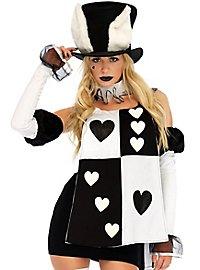 Schwarz-weißes Kaninchen Kostüm