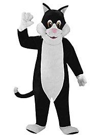 Schwarze Katze Maskottchen