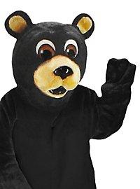 Schwarzer Bär Maskottchen