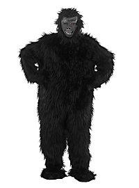 Schwarzer Gorilla Kostüm