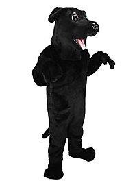 Schwarzer Labrador Maskottchen