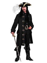 Schwarzer Piratenmantel