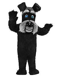 Schwarzer Terrier Maskottchen