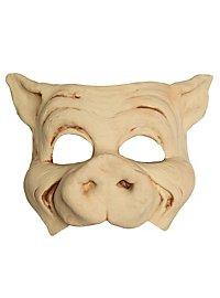 Schwein Halbmaske aus Latex