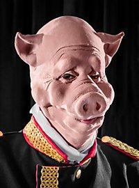 Schwein Maske aus Schaumlatex