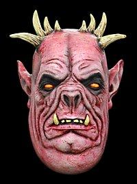 Schweinedämon Maske aus Latex