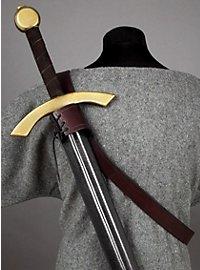Schwertscheide klassisch dunkelbraun