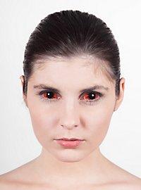 Sclera orange Kontaktlinsen
