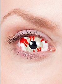 Sclera Verseuchter Kontaktlinsen